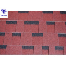 12 colors double style asphalt roofing shingles/ building materials